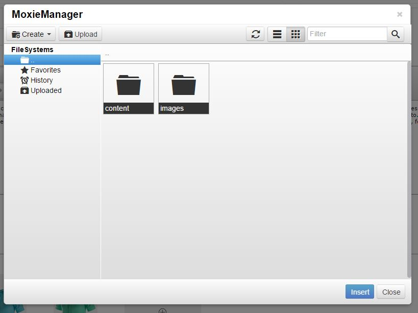 Screenshot of Moxie Manager